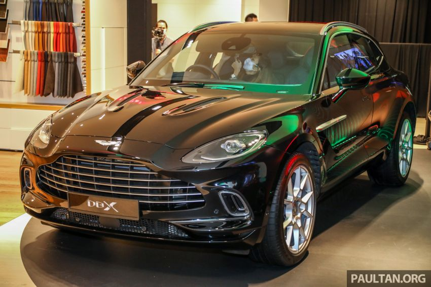 Aston Martin DBX SUV launched in Malaysia – 4.0L biturbo V8 with 550 PS and 700 Nm, RM818k before tax Image #1188988