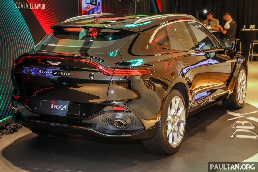 Aston Martin DBX SUV launched in Malaysia – 4.0L biturbo V8 with 550 PS and 700 Nm, RM818k before tax Image #1188989