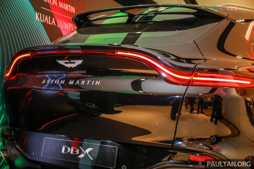 Aston Martin DBX SUV launched in Malaysia – 4.0L biturbo V8 with 550 PS and 700 Nm, RM818k before tax Image #1189007