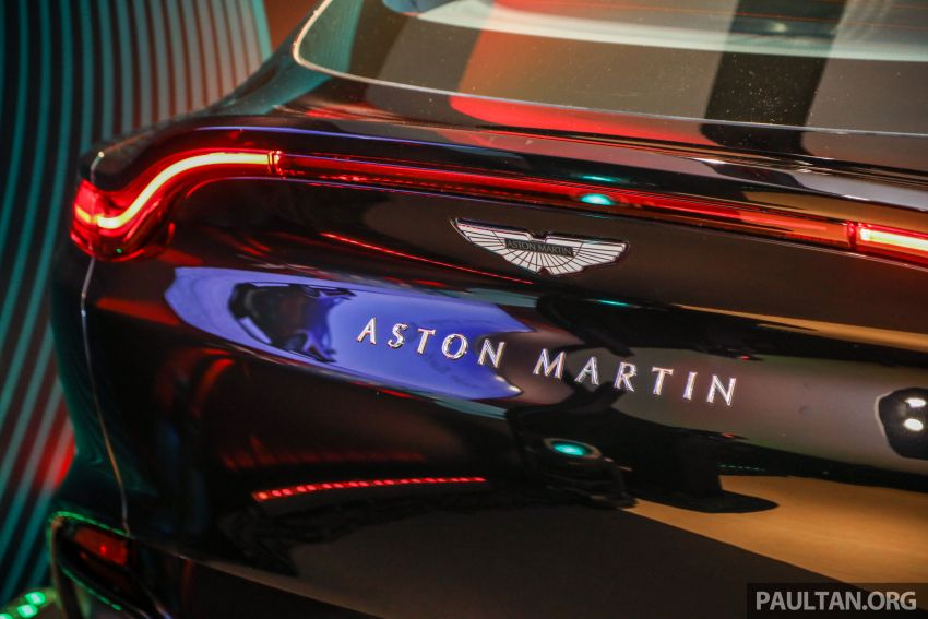 Aston Martin DBX SUV launched in Malaysia – 4.0L biturbo V8 with 550 PS and 700 Nm, RM818k before tax Image #1189010