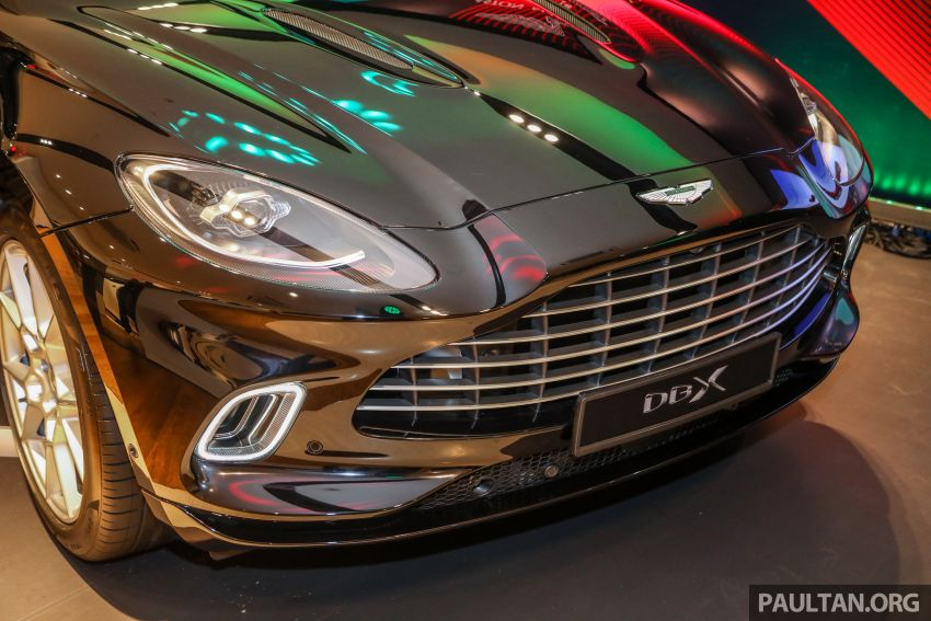 Aston Martin DBX SUV launched in Malaysia – 4.0L biturbo V8 with 550 PS and 700 Nm, RM818k before tax Image #1188992