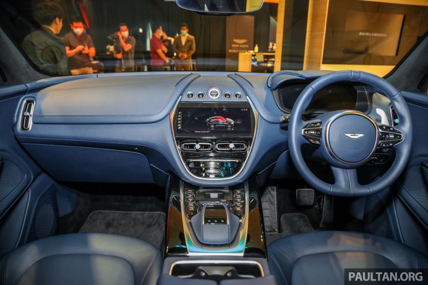 Aston Martin DBX SUV launched in Malaysia – 4.0L biturbo V8 with 550 PS and 700 Nm, RM818k before tax Image #1189026