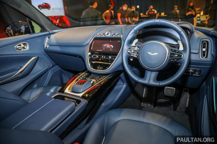 Aston Martin DBX SUV launched in Malaysia – 4.0L biturbo V8 with 550 PS and 700 Nm, RM818k before tax Image #1189053