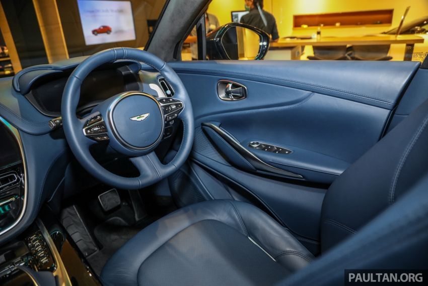 Aston Martin DBX SUV launched in Malaysia – 4.0L biturbo V8 with 550 PS and 700 Nm, RM818k before tax Image #1189056