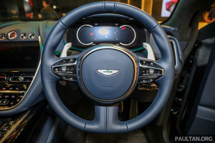 Aston Martin DBX SUV launched in Malaysia – 4.0L biturbo V8 with 550 PS and 700 Nm, RM818k before tax Image #1189027