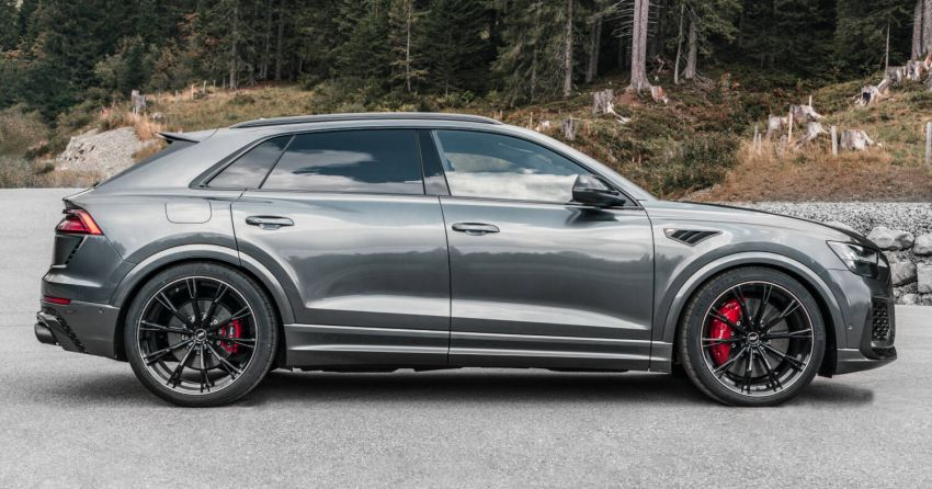 Audi RS Q8 gets new 23″ wheels & exhaust from ABT Image #1194522