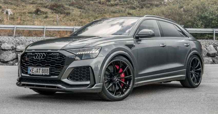 Audi RS Q8 gets new 23″ wheels & exhaust from ABT Image #1194525
