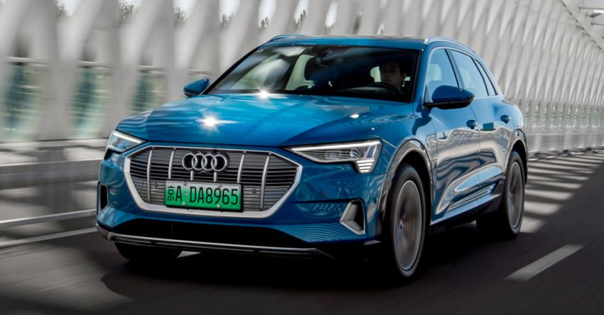 Audi partners FAW to make e-tron vehicles in China Image #1195708