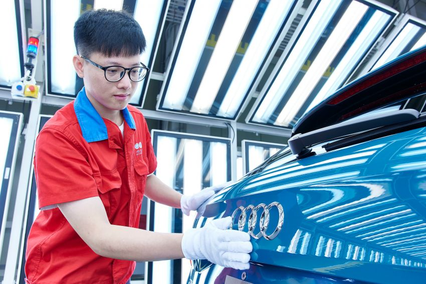 Audi partners FAW to make e-tron vehicles in China Image #1195710