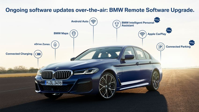 BMW Remote Software Upgrade for Operating System 7 – Android Auto, BMW Maps, eDrive Zones and more Image #1194625