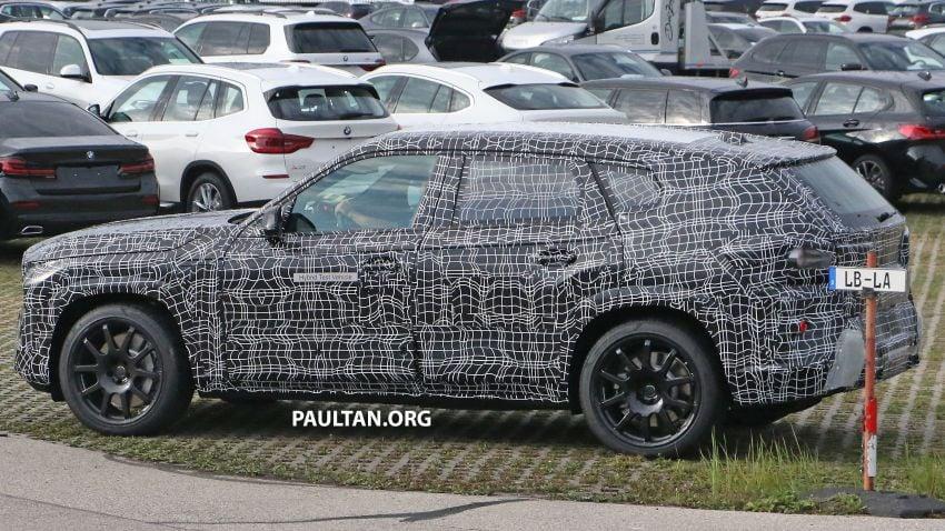 SPYSHOTS: BMW X8 – closer look at flagship SUV Image #1194112