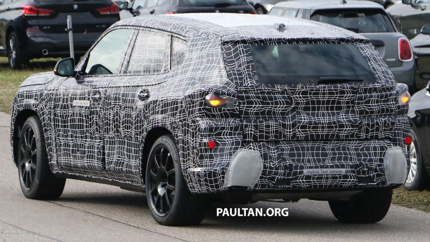 SPYSHOTS: BMW X8 – closer look at flagship SUV Image #1194115