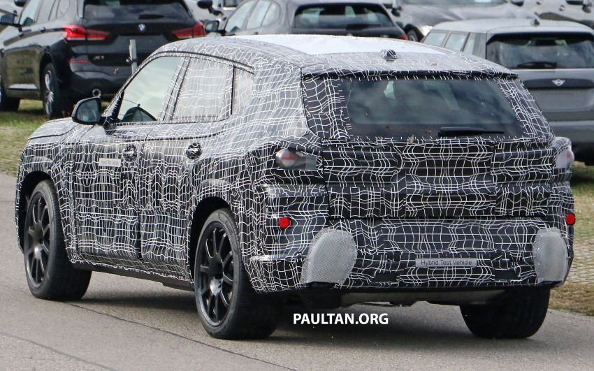 SPYSHOTS: BMW X8 – closer look at flagship SUV Image #1194116