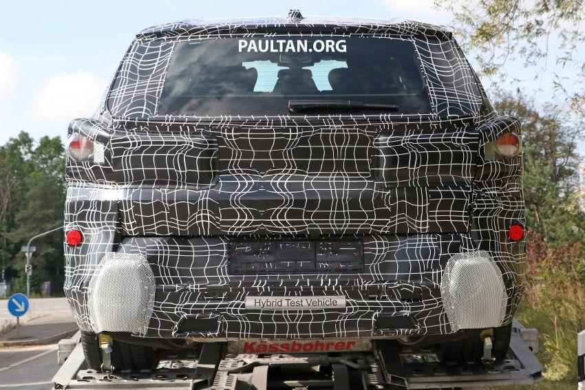 SPYSHOTS: BMW X8 – closer look at flagship SUV Image #1194121