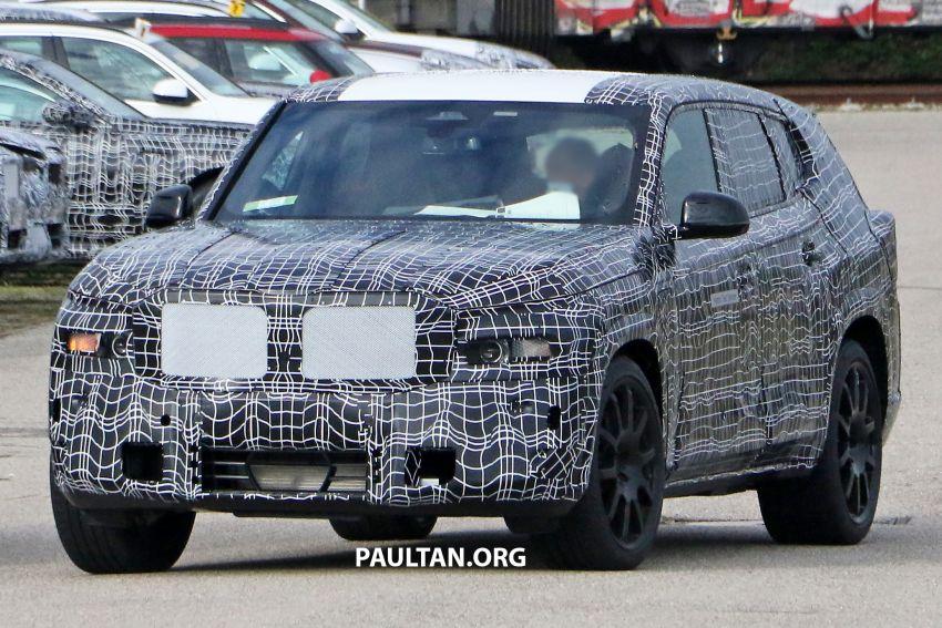 SPYSHOTS: BMW X8 – closer look at flagship SUV Image #1194104