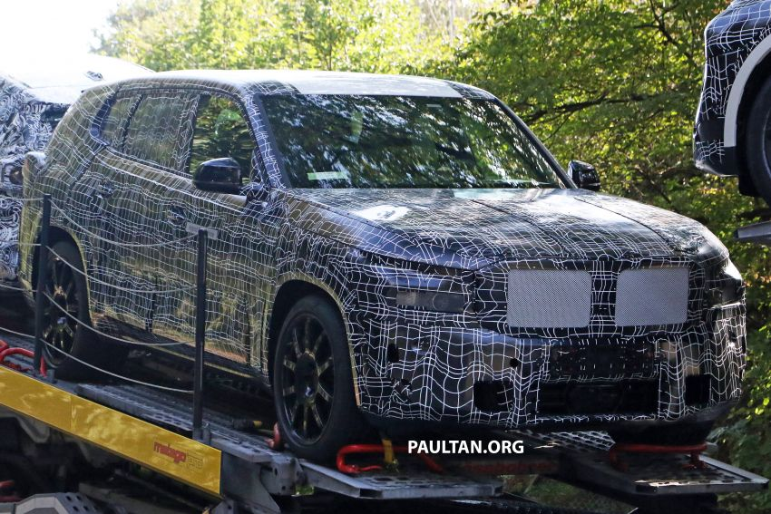 SPYSHOTS: BMW X8 – closer look at flagship SUV Image #1194124