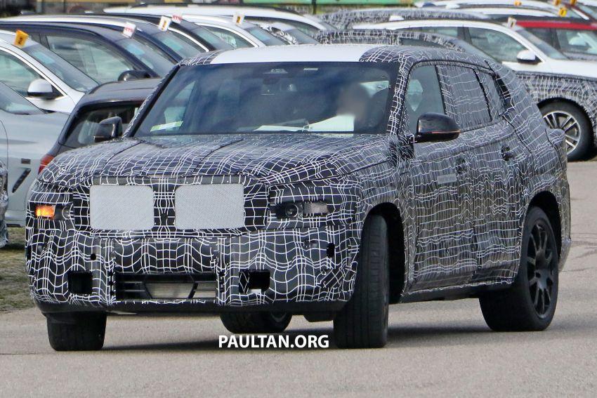 SPYSHOTS: BMW X8 – closer look at flagship SUV Image #1194105