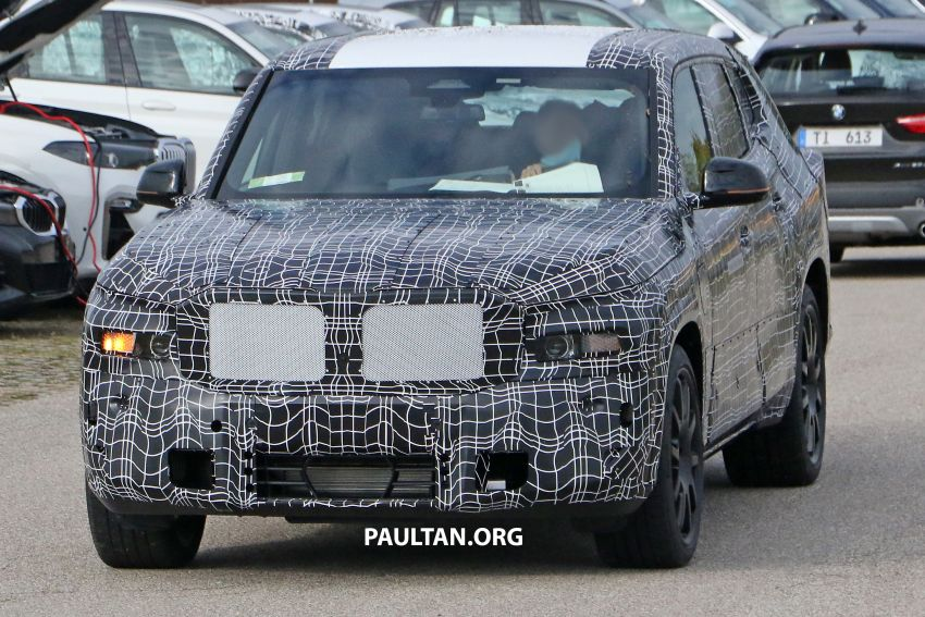 SPYSHOTS: BMW X8 – closer look at flagship SUV Image #1194107