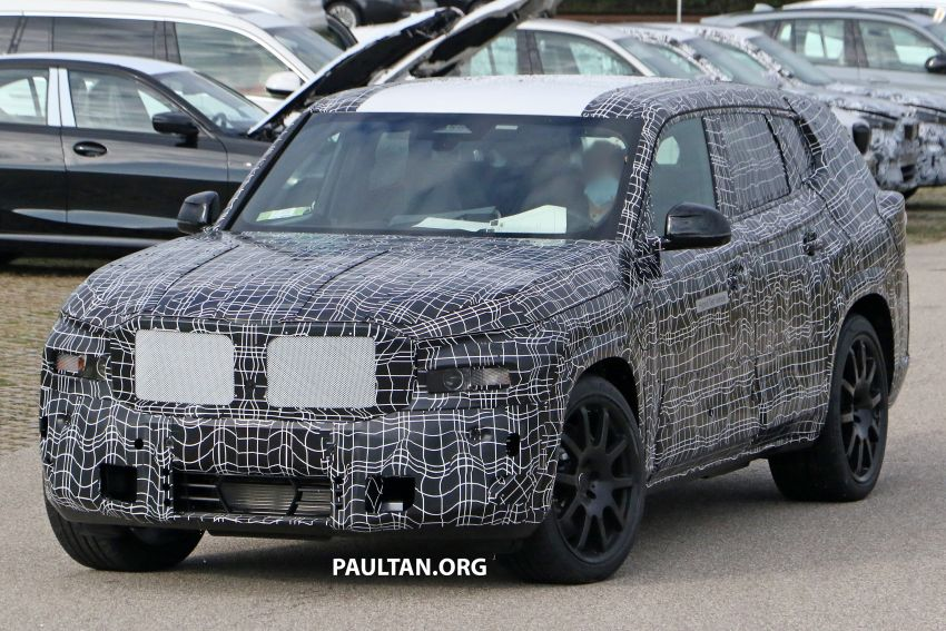 SPYSHOTS: BMW X8 – closer look at flagship SUV Image #1194108