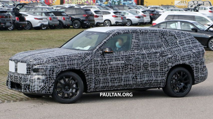 SPYSHOTS: BMW X8 – closer look at flagship SUV Image #1194109