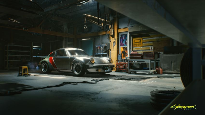 Porsche 930 Turbo and Arch Motorcycle Method 143 to feature in upcoming Cyberpunk 2077 video game Image #1194406