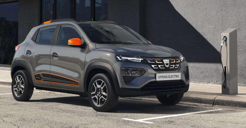 Dacia Spring Electric debuts – small EV with 44 hp and 225 km range; car-sharing and commercial variants Image #1194275