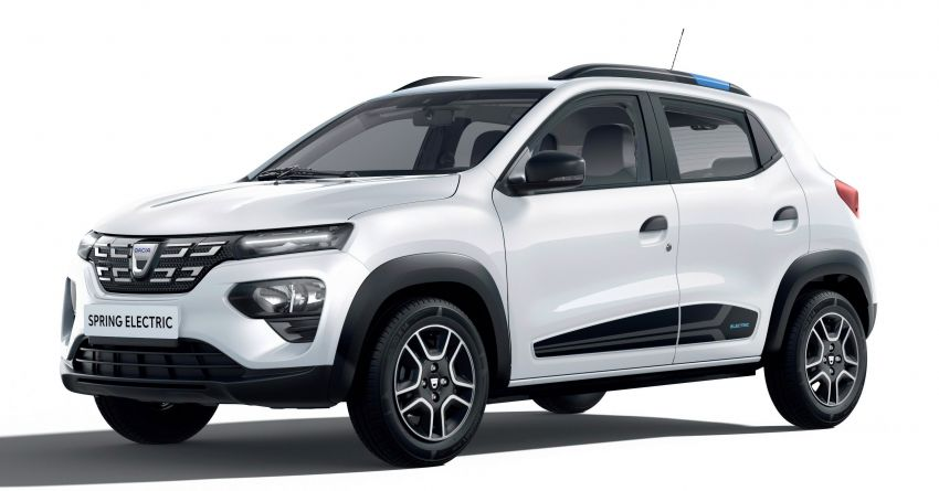 Dacia Spring Electric debuts – small EV with 44 hp and 225 km range; car-sharing and commercial variants Image #1194284