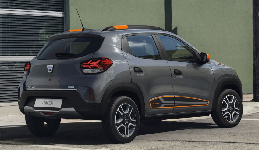 Dacia Spring Electric debuts – small EV with 44 hp and 225 km range; car-sharing and commercial variants Image #1194276