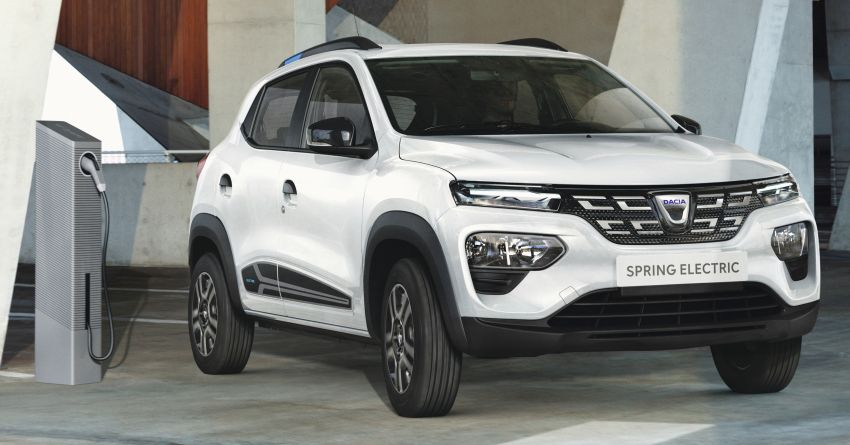 Dacia Spring Electric debuts – small EV with 44 hp and 225 km range; car-sharing and commercial variants Image #1194277
