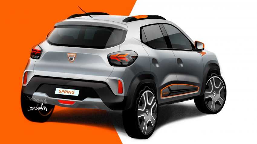 Dacia Spring Electric debuts – small EV with 44 hp and 225 km range; car-sharing and commercial variants Image #1194279