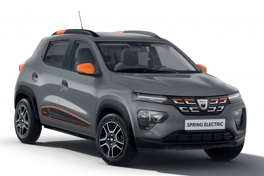 Dacia Spring Electric debuts – small EV with 44 hp and 225 km range; car-sharing and commercial variants Image #1194283