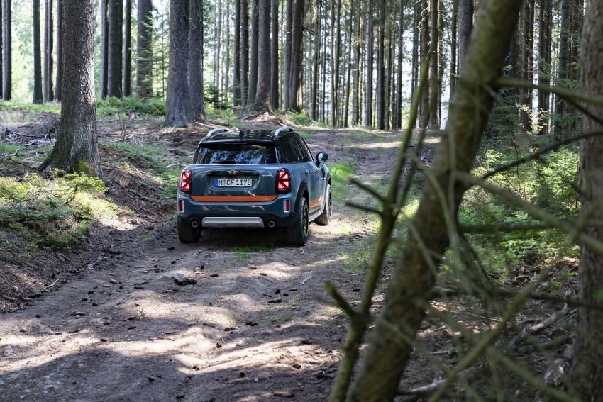F60 MINI Countryman Powered by X-raid: more rugged Image #1200711