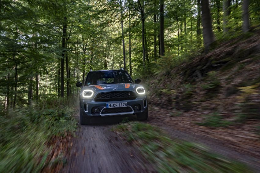 F60 MINI Countryman Powered by X-raid: more rugged Image #1200715