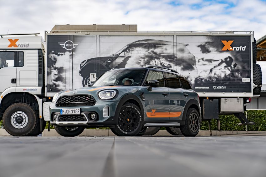 F60 MINI Countryman Powered by X-raid: more rugged Image #1200700