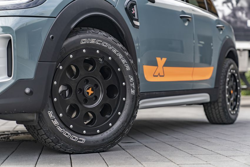 F60 MINI Countryman Powered by X-raid: more rugged Image #1200702