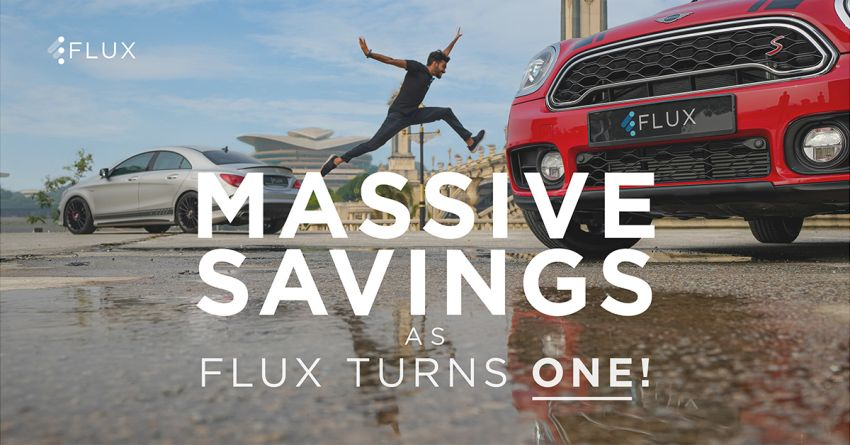 AD: Flux first anniversary promotion – 50% off monthly fees with car subscriptions for the first three months Image #1189540