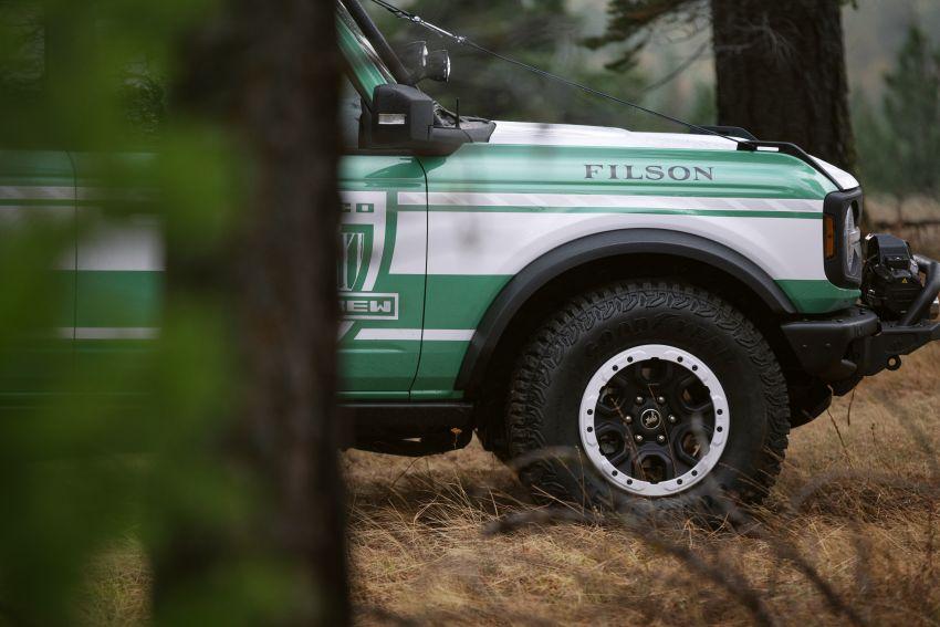 Ford unveils Bronco Filson Wildland Fire Rig concept Image #1197855