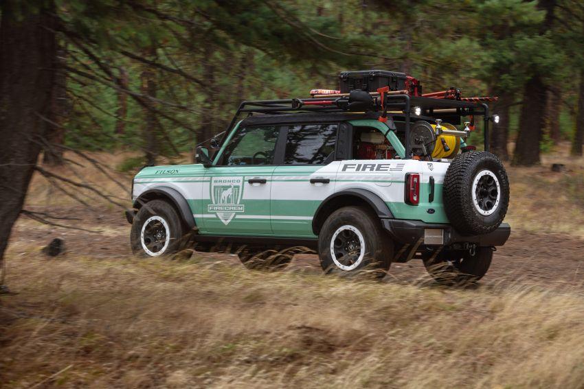 Ford unveils Bronco Filson Wildland Fire Rig concept Image #1197853