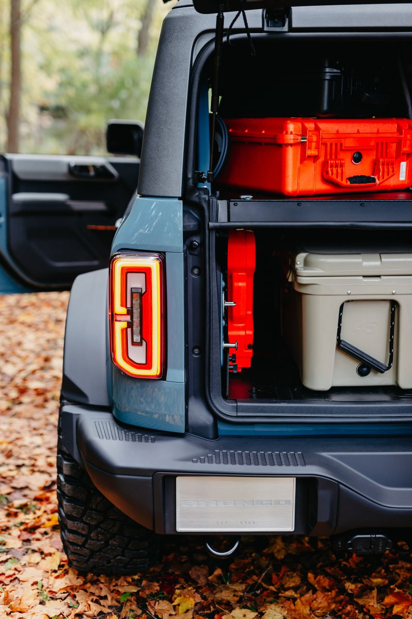 Ford Bronco Overland concept – off-road accessories showcased on 2.3 litre EcoBoost four-door version Image #1189670