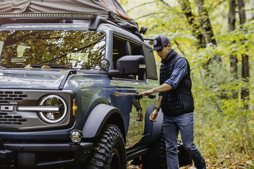 Ford Bronco Overland concept – off-road accessories showcased on 2.3 litre EcoBoost four-door version Image #1189672