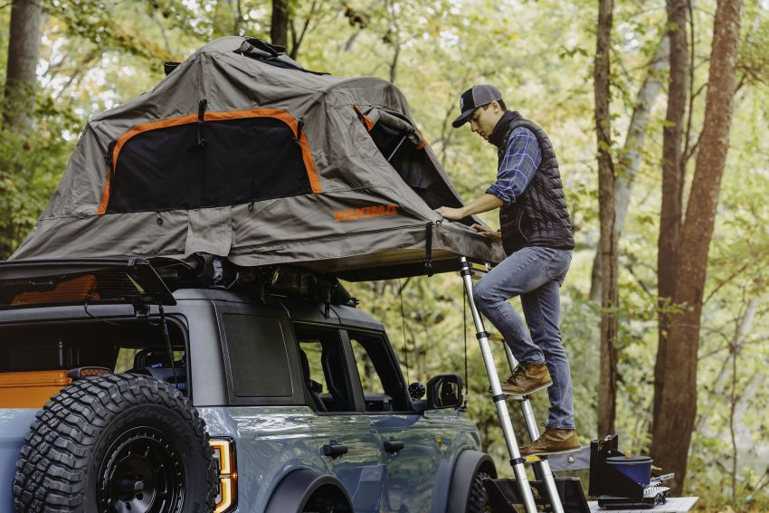 Ford Bronco Overland concept – off-road accessories showcased on 2.3 litre EcoBoost four-door version Image #1189677