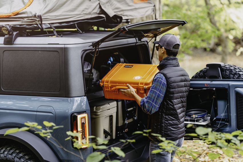 Ford Bronco Overland concept – off-road accessories showcased on 2.3 litre EcoBoost four-door version Image #1189678