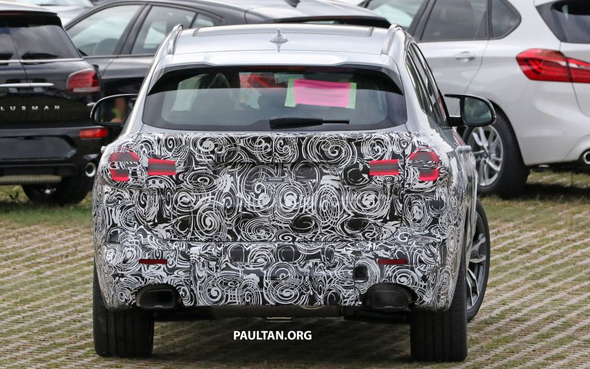 SPIED: G01 BMW X3 M40i facelift seen, with X4 mule Image #1189322