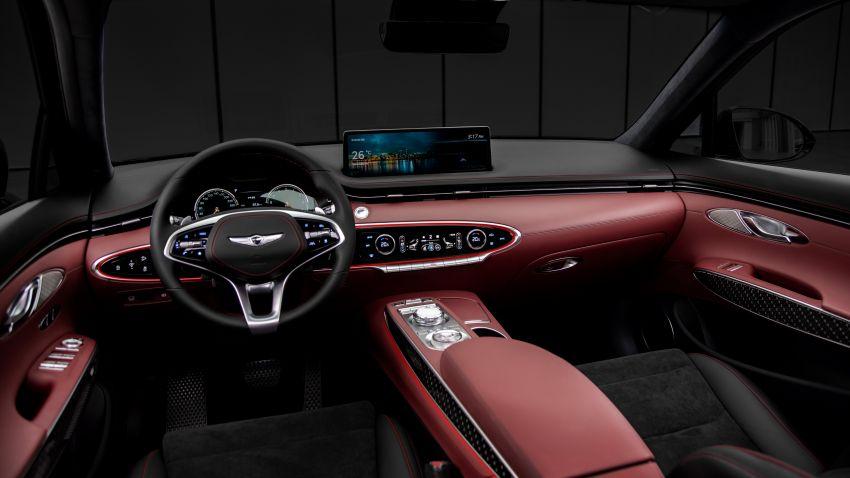 Genesis GV70 previewed – interior, exterior shown Image #1201485