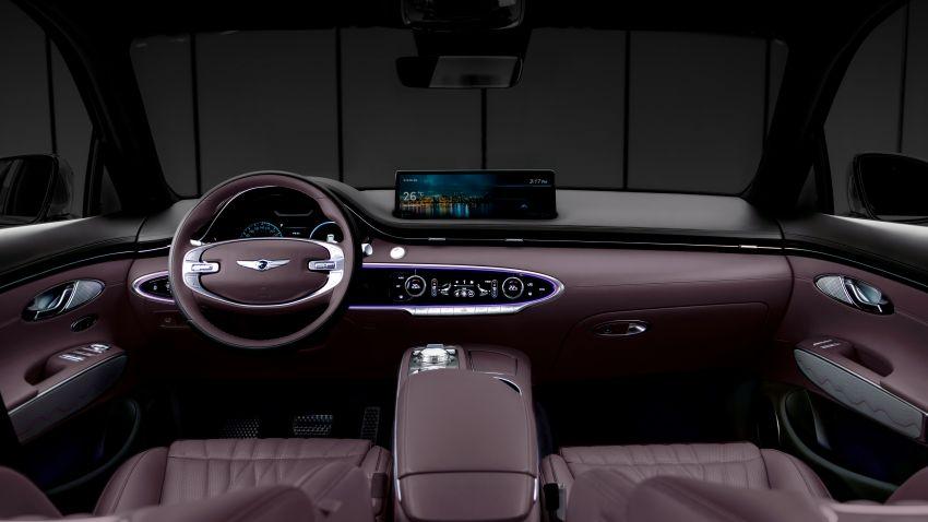 Genesis GV70 previewed – interior, exterior shown Image #1201488