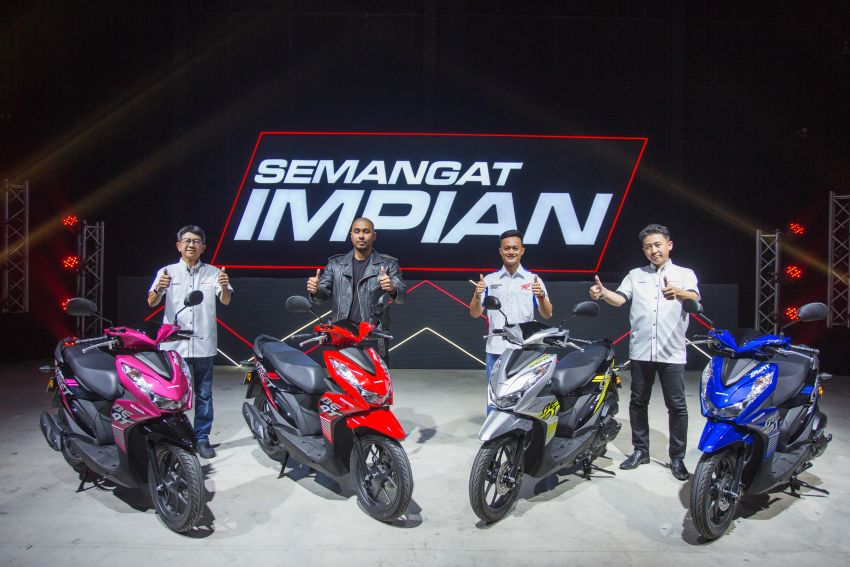 Honda Beat serba baru tiba di Malaysia – harga RM5.5k Image #1191209