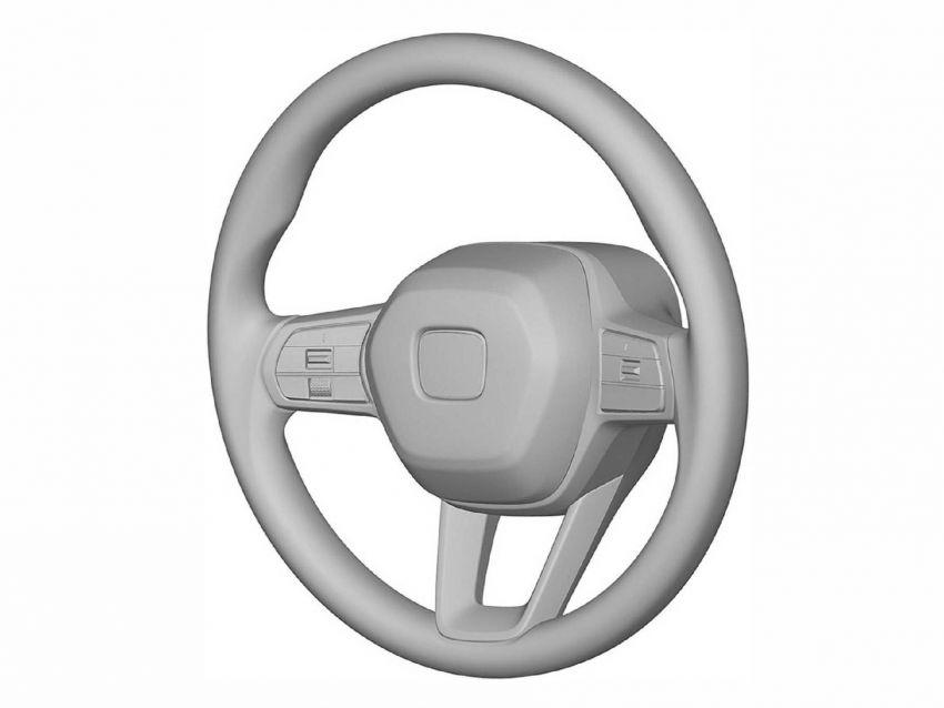 Next-gen Honda Civic interior patent images revealed Image #1186730