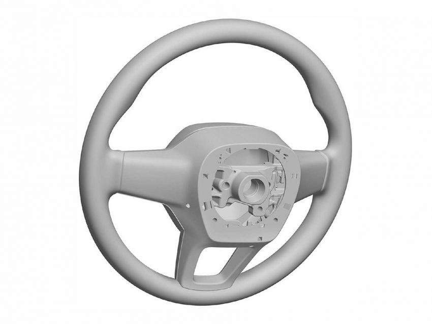 Next-gen Honda Civic interior patent images revealed Image #1186732