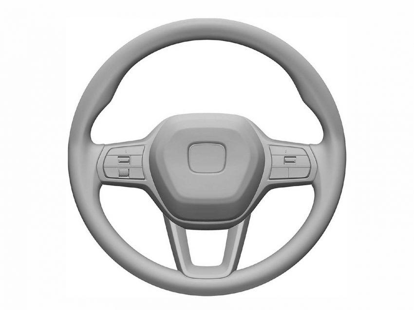 Next-gen Honda Civic interior patent images revealed Image #1186733