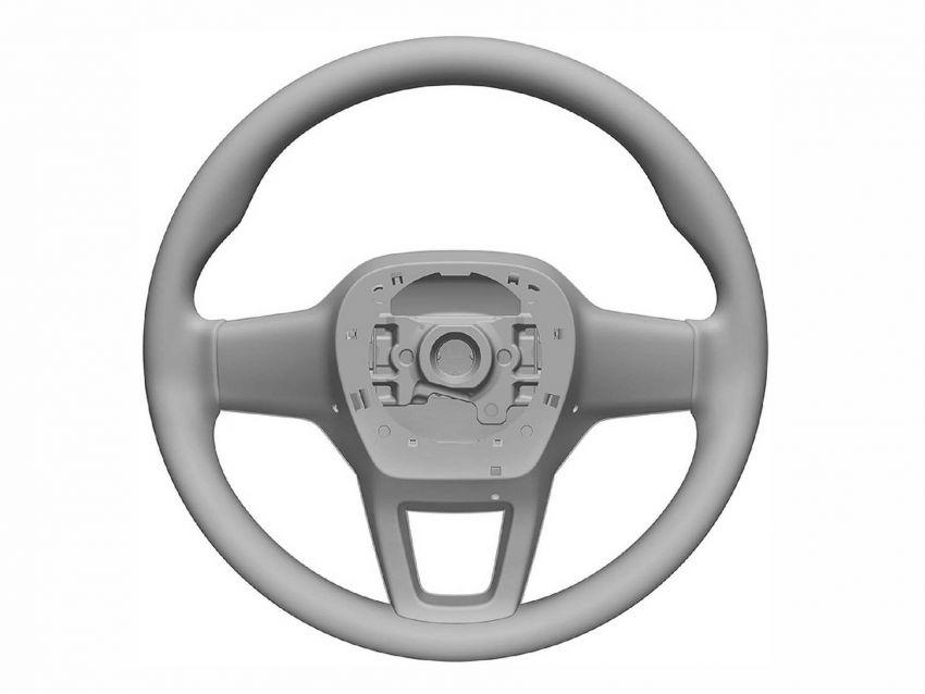 Next-gen Honda Civic interior patent images revealed Image #1186735